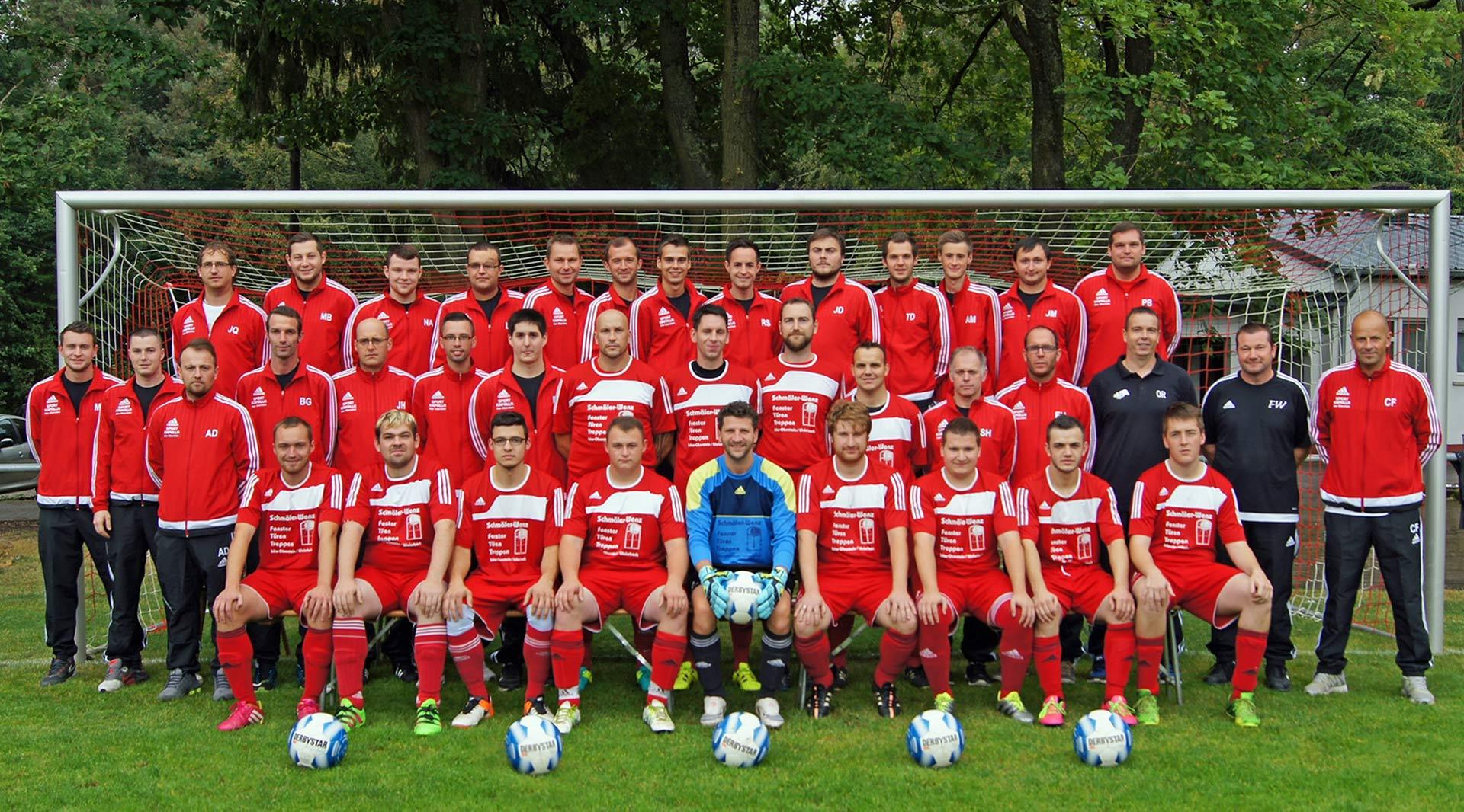 Kader des SVM aus der Meistersasion 2016 / 2017
