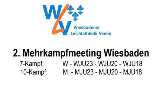 Mehrkampfmeeting Wiesbaden 10./11.07.