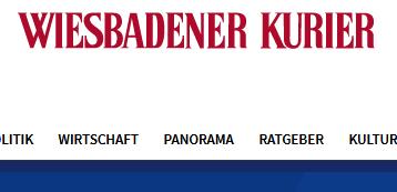 Wiesbadener Kurier berichtet
