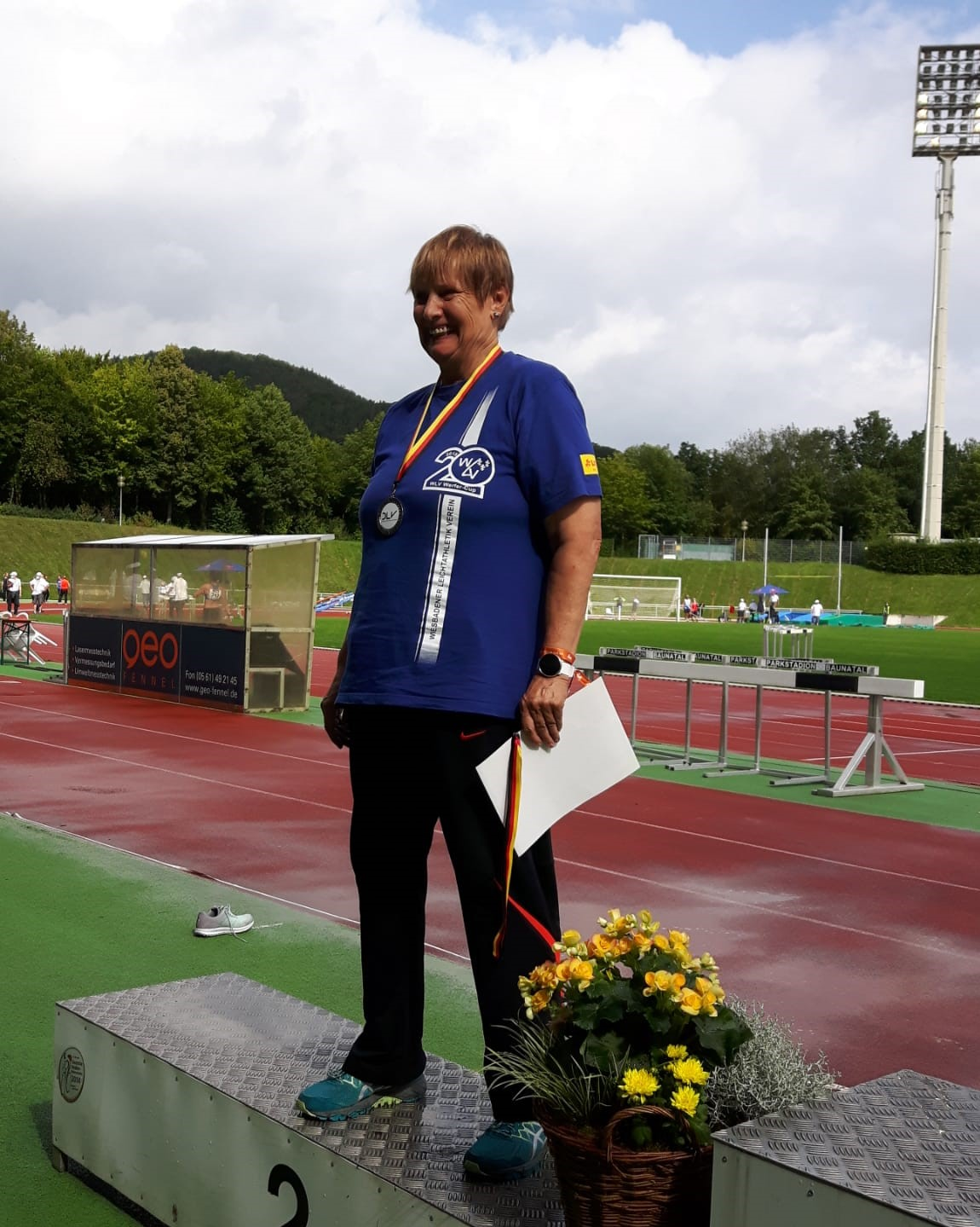 Deutsche Seniorenmeisterschaften, Babsi Schlosser gewinnt 2 Silbermedaillen