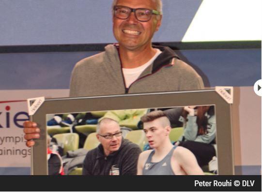 Peter Rouhi zum DLV-Nachwuchstrainer des Jahres gewählt