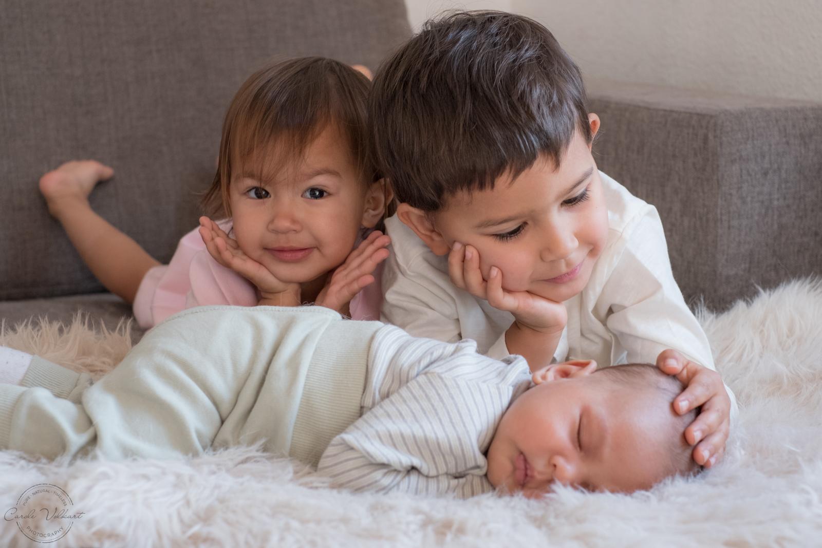 Neugeborenenfotografie Zuhause