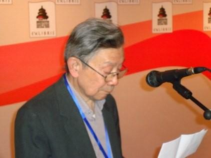 FISAE-Präsident Liang Dong eröffnet den Kongress.