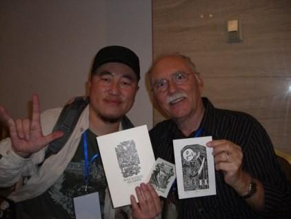 Künstler Wang Kun, Josef Burch