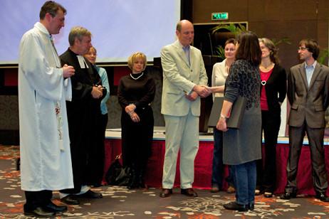 Ein Dankeschön von Herzen an Peter Zumbusch, der den Gemeinderat aufgrund seiner Rückkehr nach Deutschland verlässt.