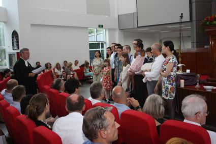 Die letzte Taufe in Shanghai für Pastor Kruse