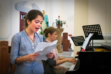 Liedbeitrag von Noemi von der Deutschen Schule Shanghai