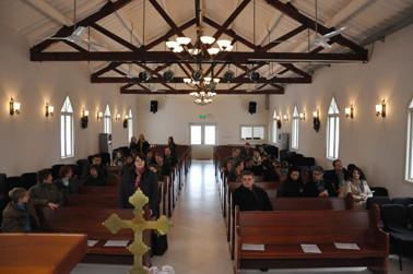 Die Kirche hat genau die richtige Größe und eine sehr schöne Atmosphäre