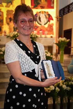 Ein besonderes Dankeschön ging an die Kathechetinnen mit der Madonna von Sheshan