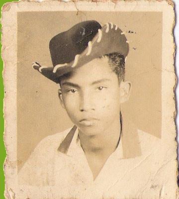 Armando Hernández en sus adolescencia todo un artista.