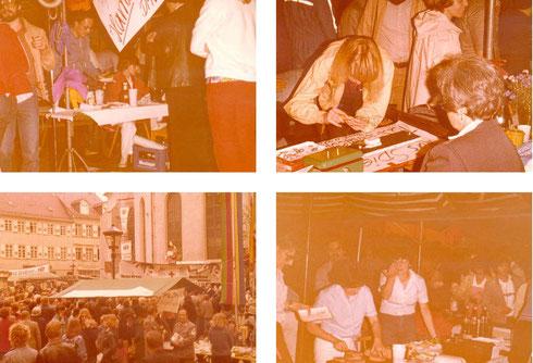 1981: Mitwirkung beim 5. Durlacher Altstadtfest