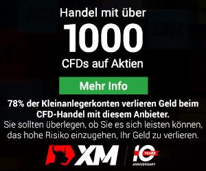 XM Handelsinstrumente Handelsgueter Aktien