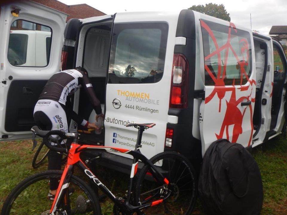 Rennbericht Radcross Illnau von Dominik Parpan