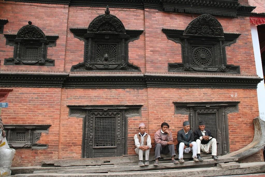 Bhaktapur-Pause