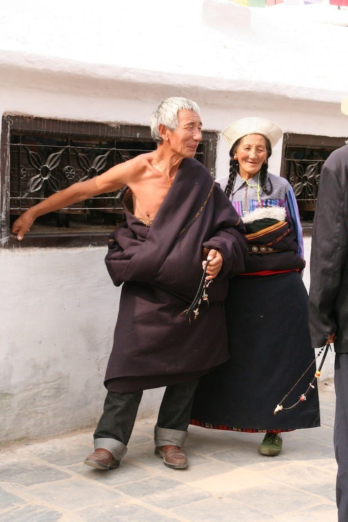 Tibetische Pilger