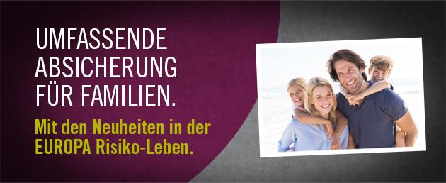Risiko-Zukunftsabsicherungen mit Paar-Bonus von EUR 50.-