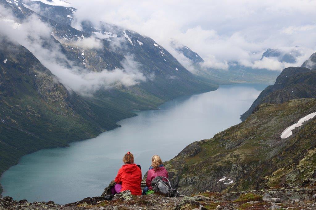 Wanderung zum Bessegengrad/Norwegen...