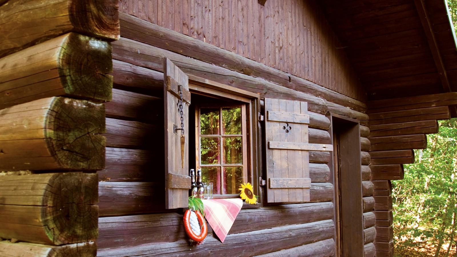 Exklusive Waldhütten zu mieten...