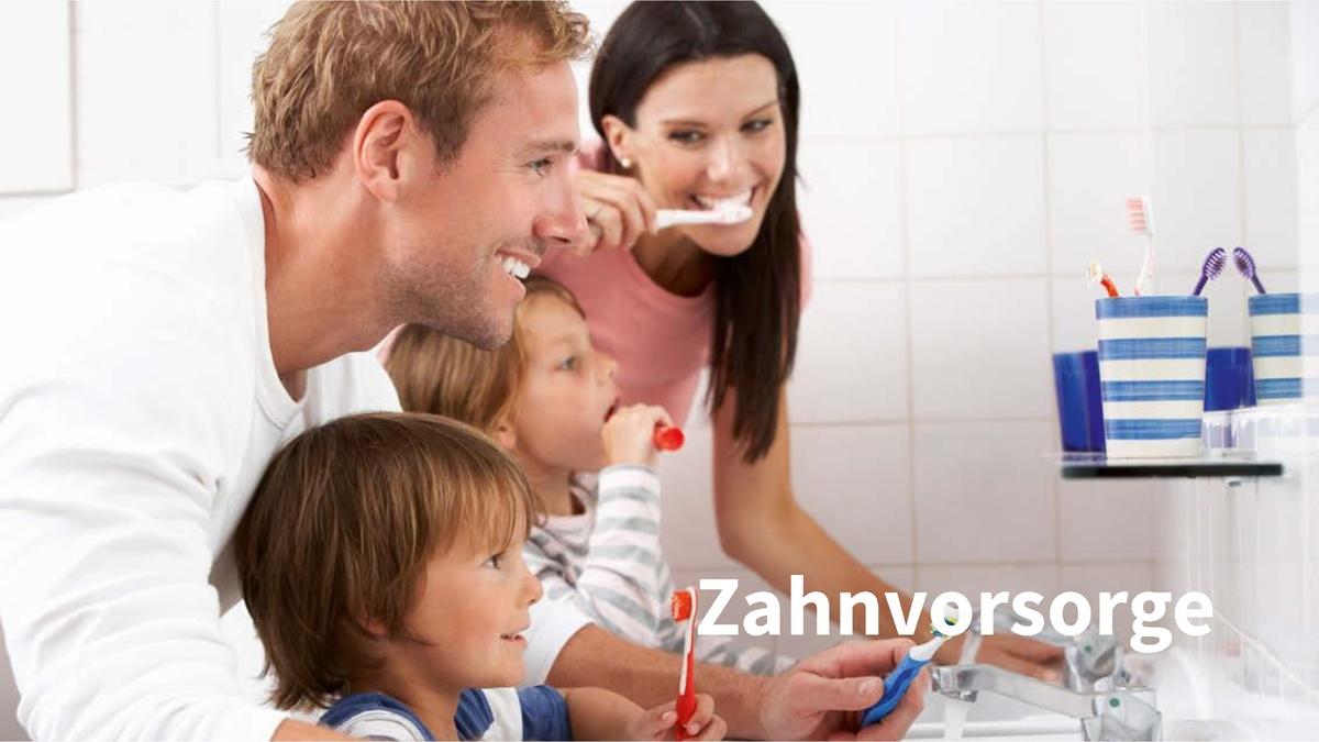 VERSICHERUNGEN - Kranken-Zahhn- Zusatzversicherungen für die ganze Familie...