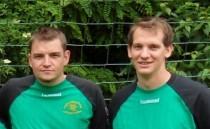 Die beiden Trainer Herr Fischer und Herr Ellerbrock (v.l.)