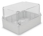 Kunststoffgehäuse CetiBOX mit transparentem Deckel