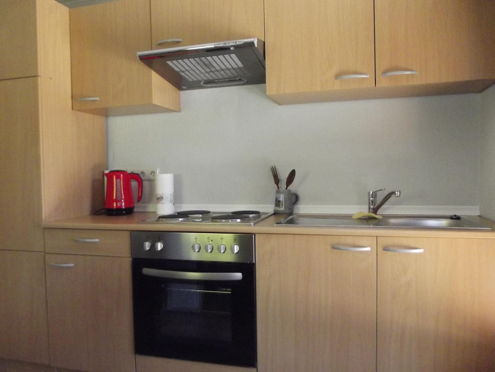 Dachwohnung: Küchenzeile