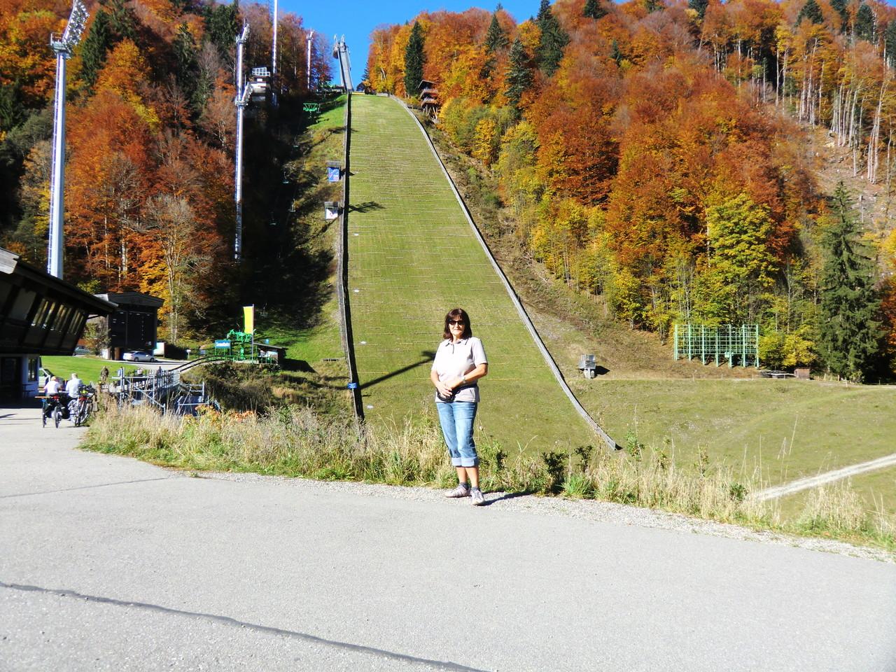 An der Skiflugschanze