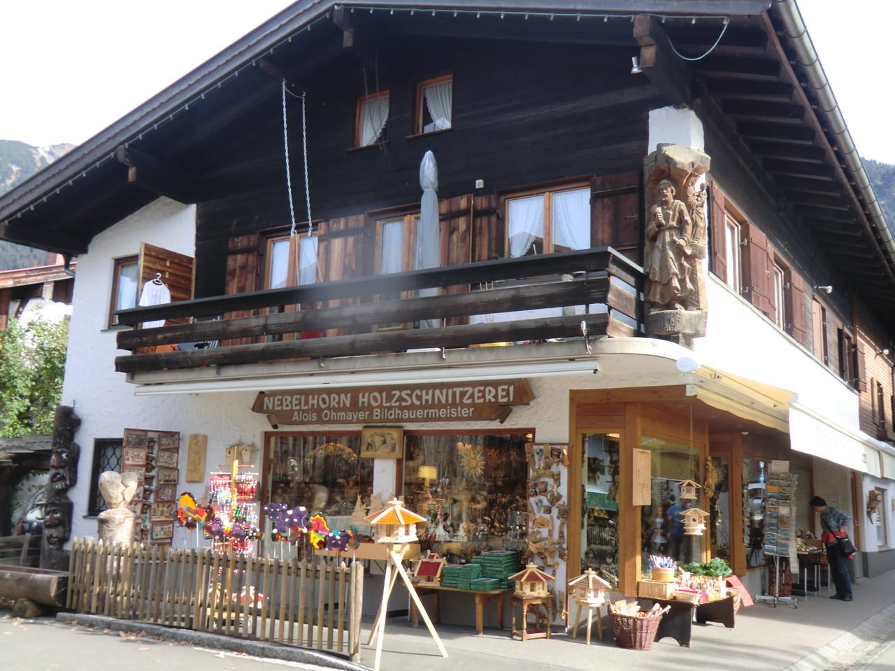 typisch bayrische Häuser gibt es hier