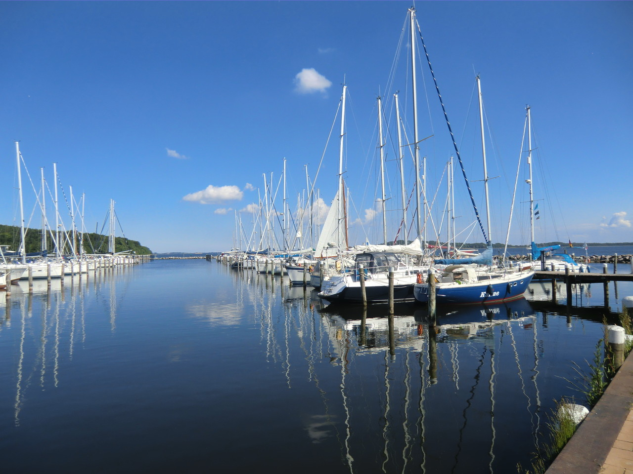 Hafen im Jaich