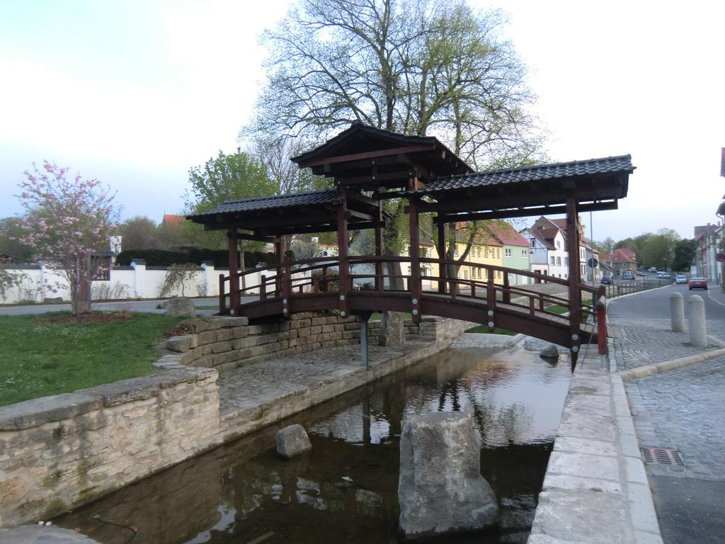 es gibt einige Brücken in Bad Langensalza