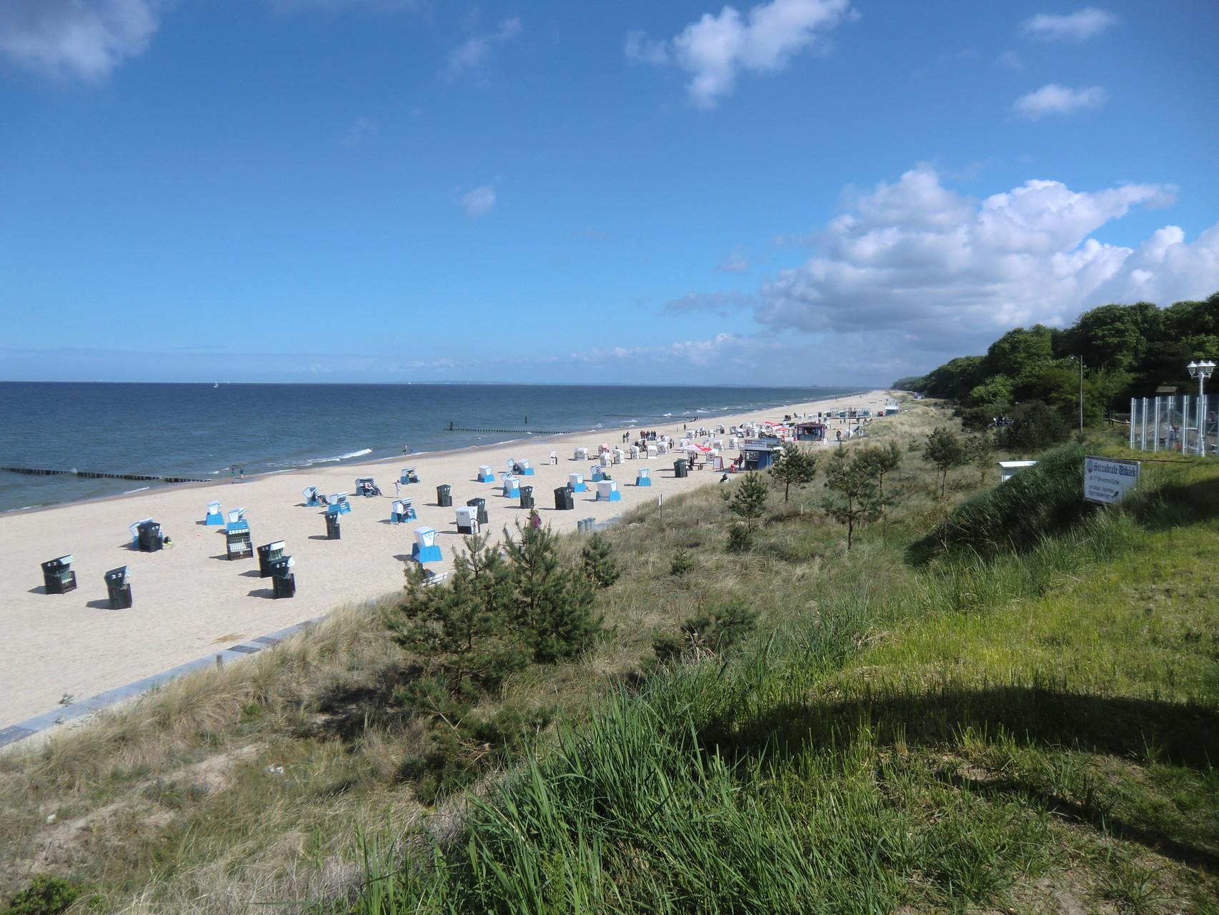 der super tolle Strand