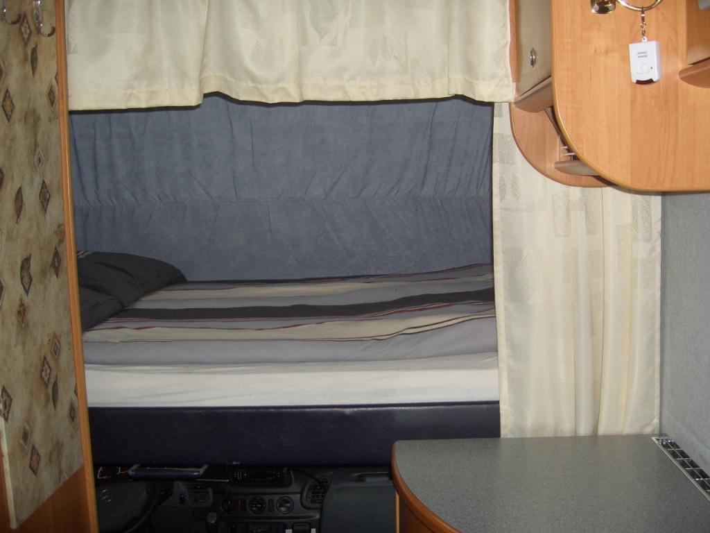 das Nachtlager - Hubbett