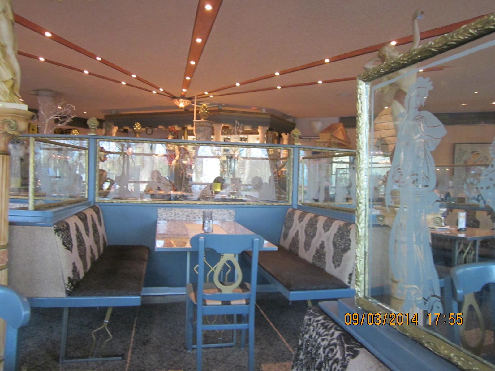 Im Restaurant Poseidon