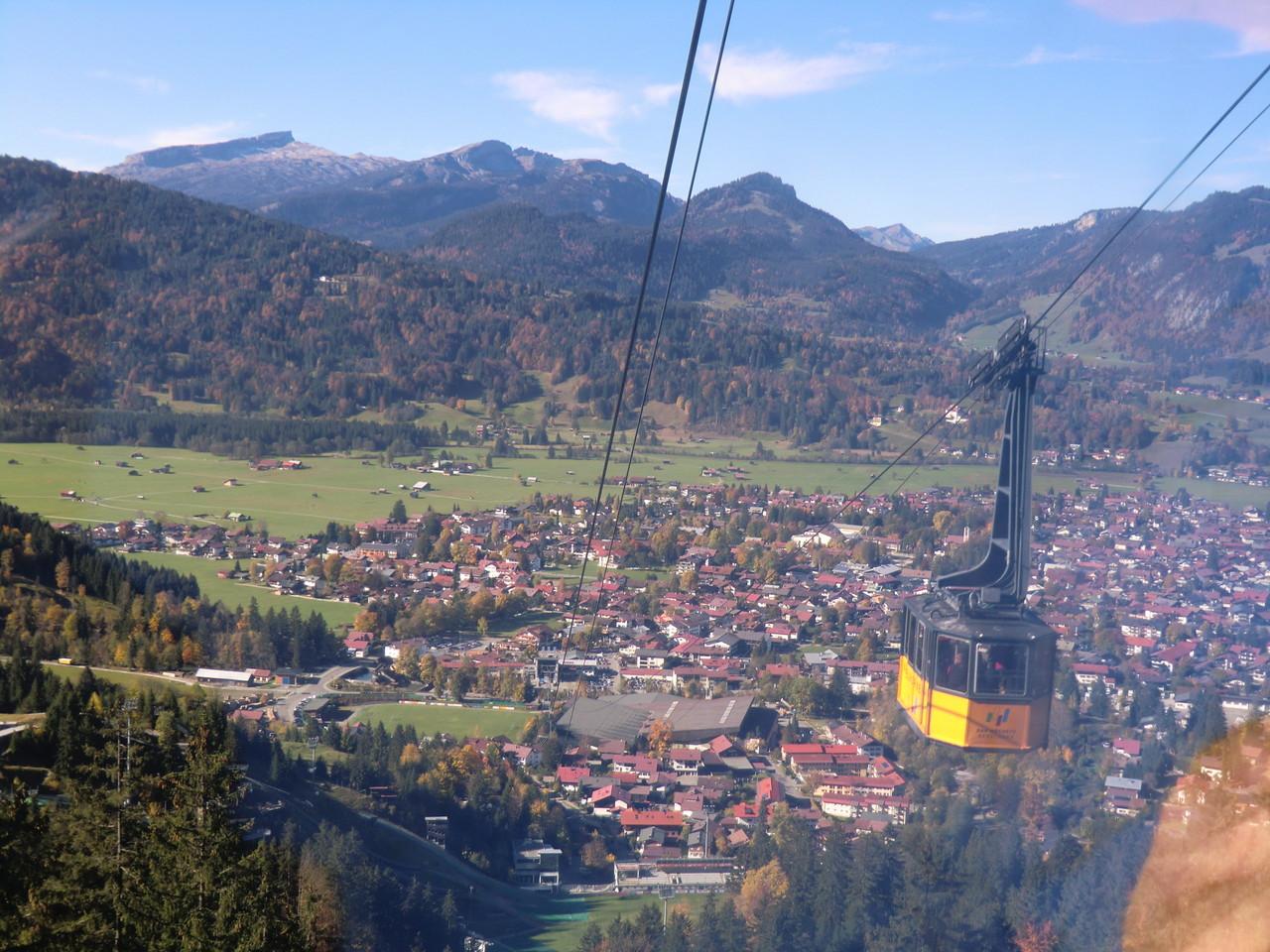 Oberstdorf wird immer kleiner