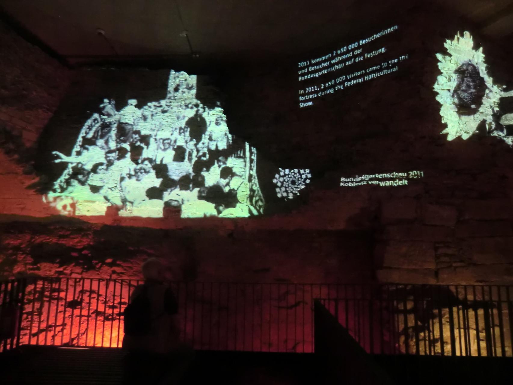 Im Kellergewölbe der Festung