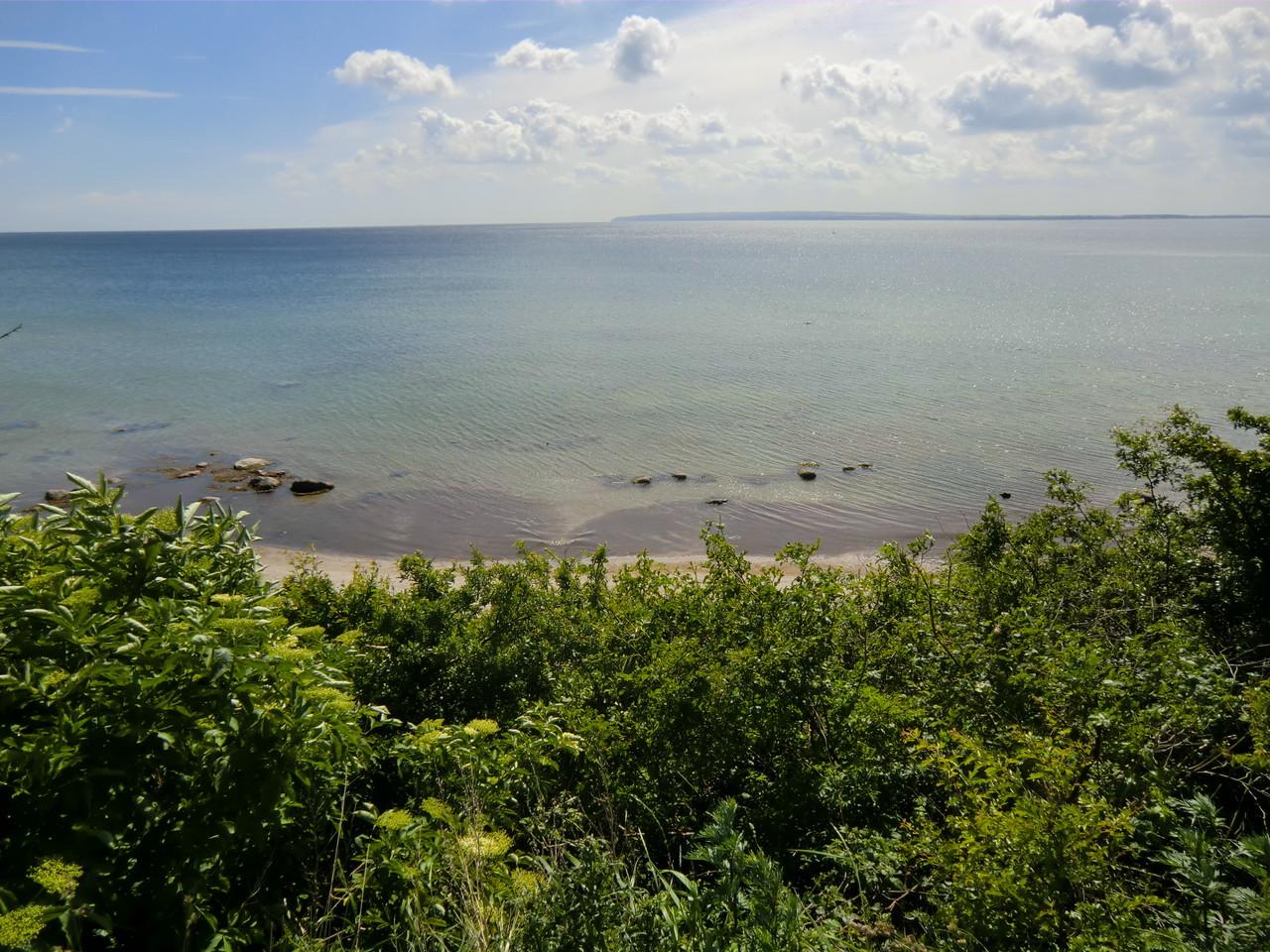 Blick vom WoMo-SP aufs Meer