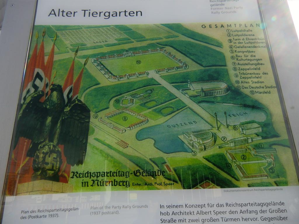 alter Plan des Geländes