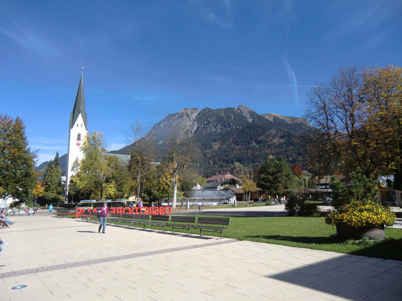 Kurpark von Oberstdorf