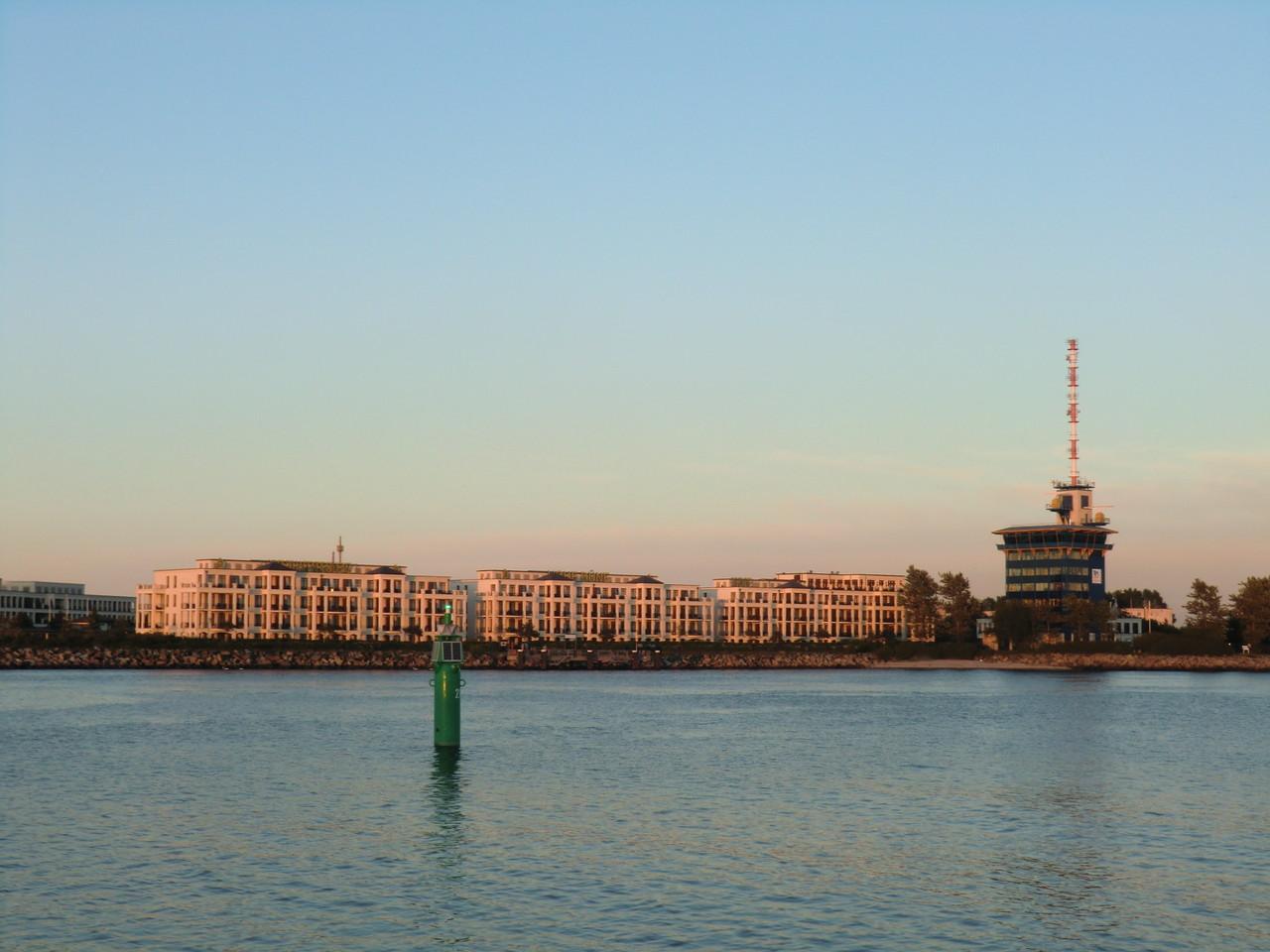 "Blick vom SP zum Yachthafen ""Hohe Düne"""