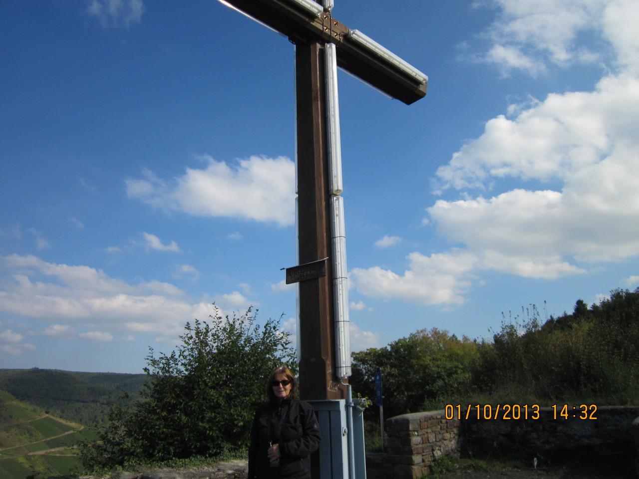 Gipfelkreuz am Petersberg