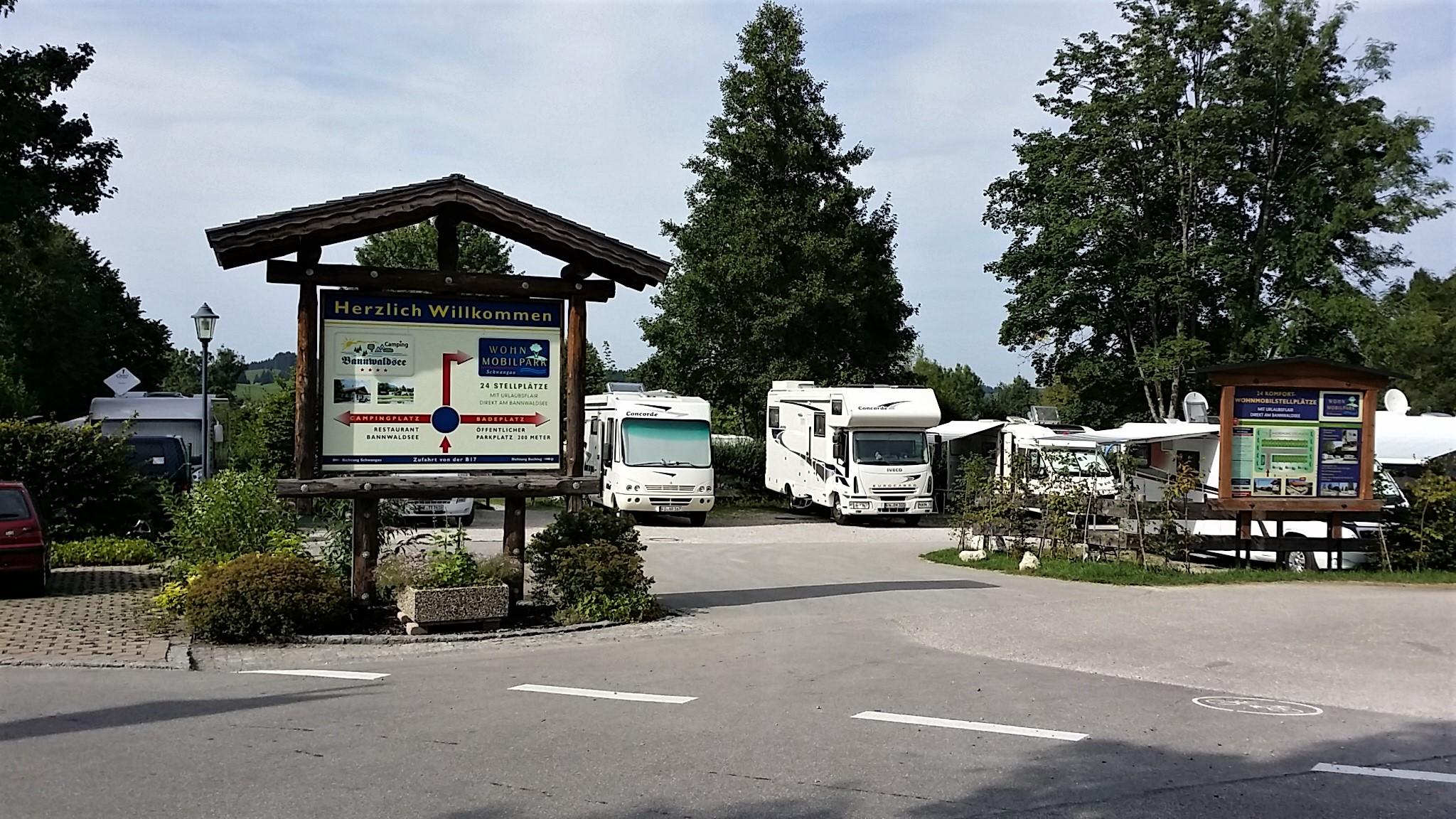 Wohnmobilpark Bannwaldsee