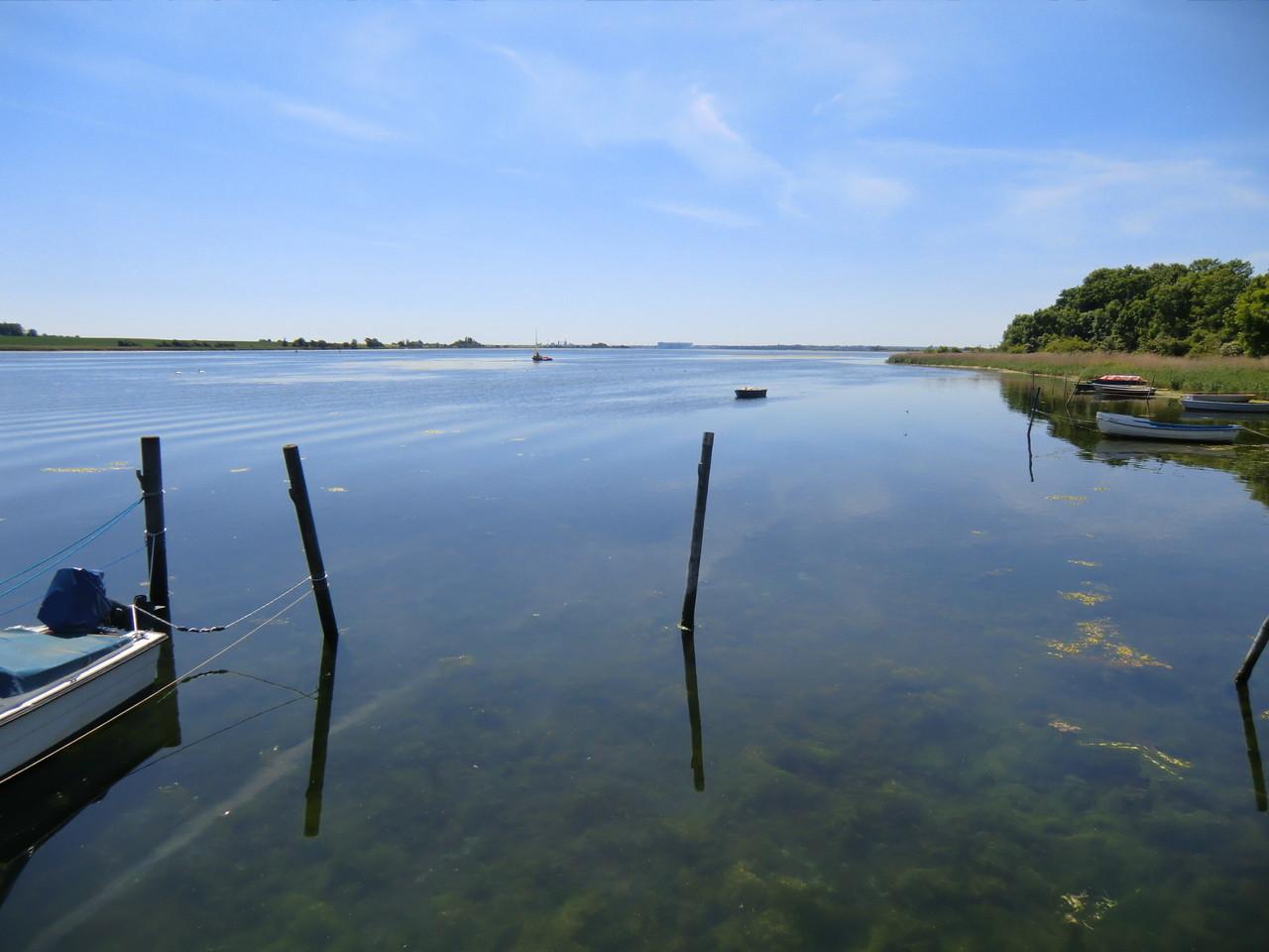 Blick zur Wismarer Bucht