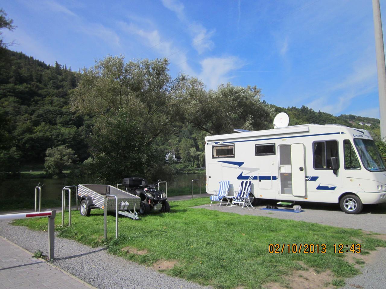 Wohnmobilstellplatz in Traben-Trarbach