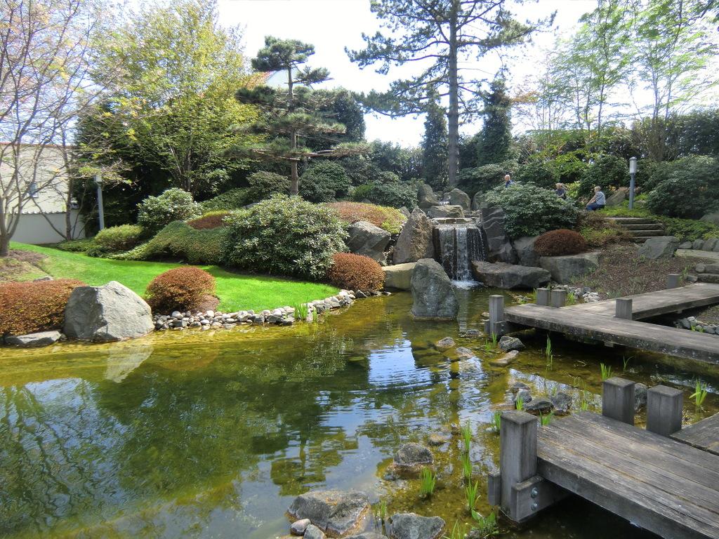 Japanischen Garten