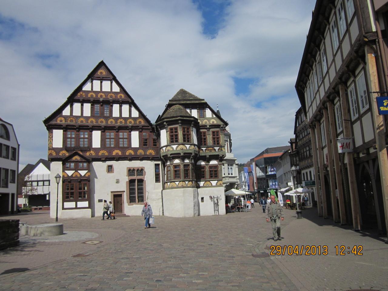 Höxter hat viele Fachwerkhäuser zu bieten