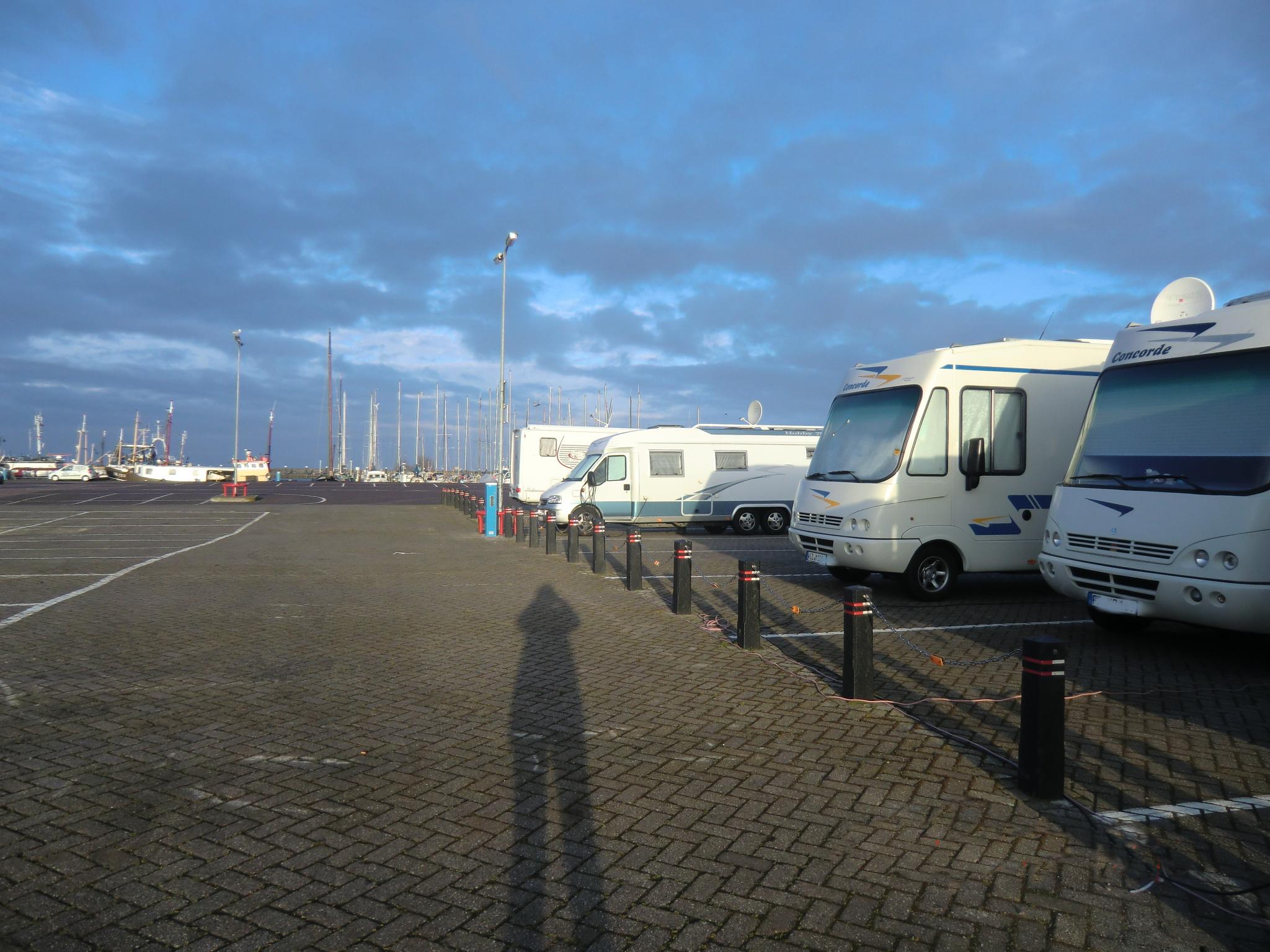 Urk SP am Hafen