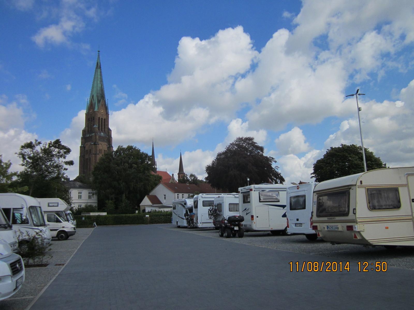 Blick zum Dom von Schleswig