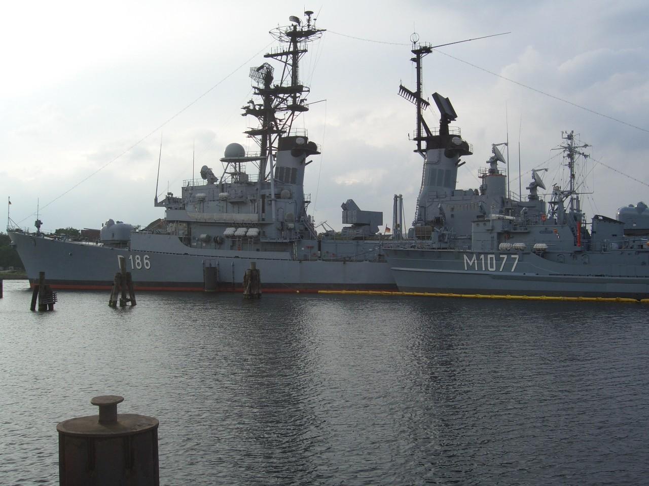 Blick ins Marinemuseum