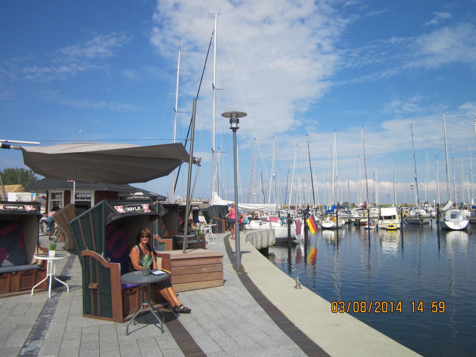 Promenade entlang dem Hafen