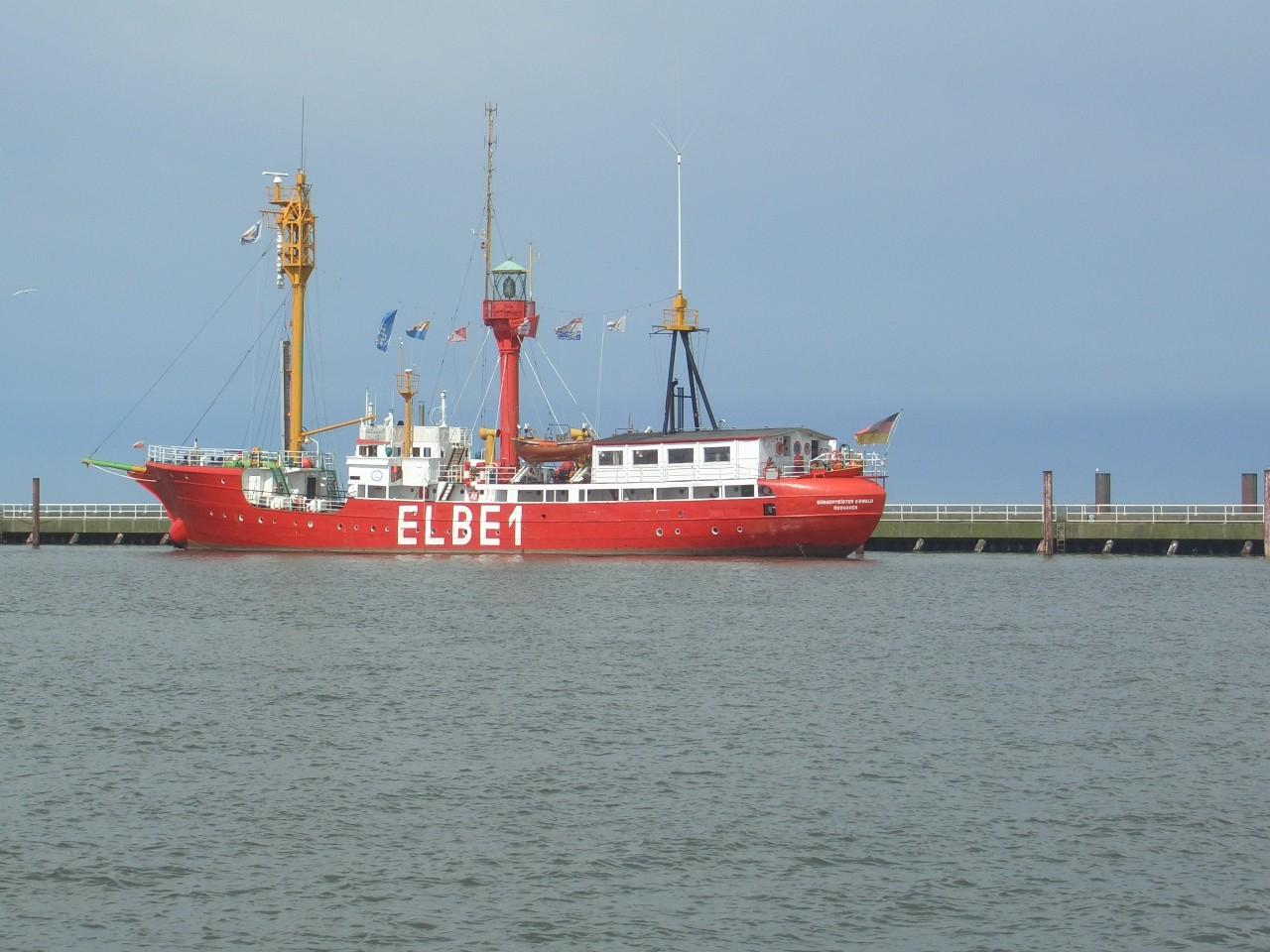 Das Feuerschiff Elbe 1